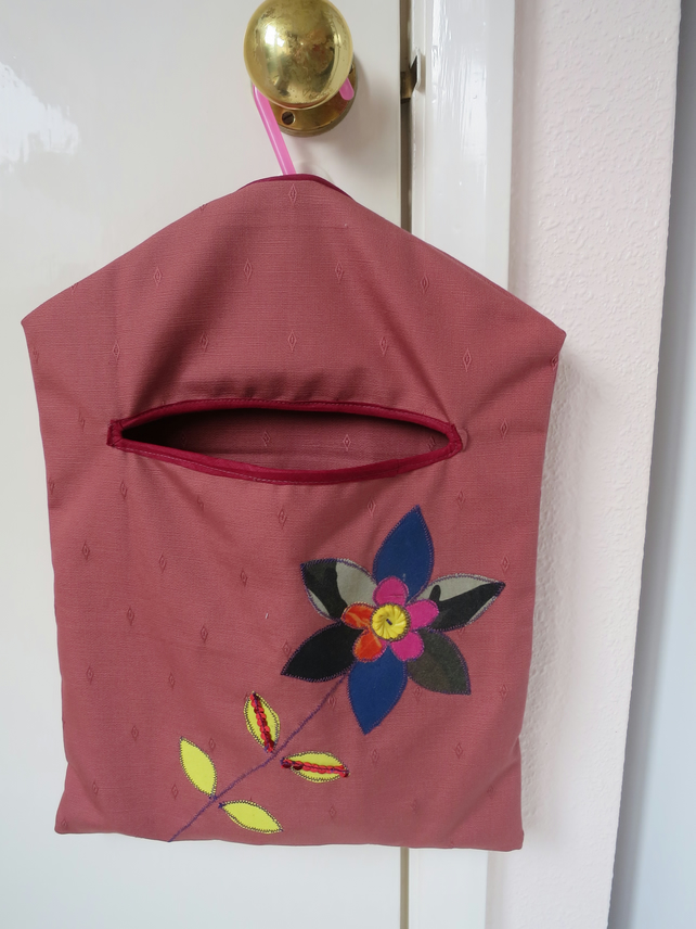 Peg Bag and Recycled Pegs