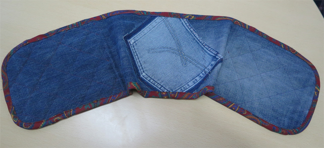 Denim Oven Glove