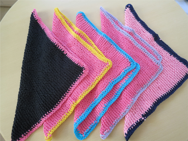 Knitted Cotton Dishcloths