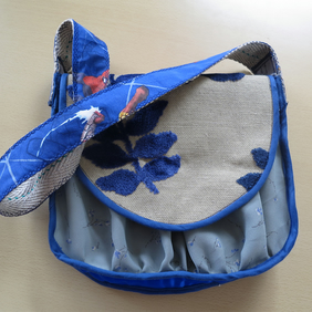 Blue Five Fabric Festival Bag