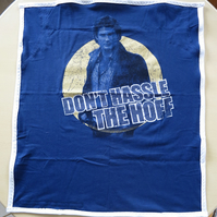 'Don't Hassle the Hoff' Teatowel