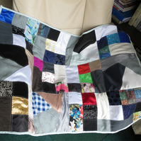 Synthetic Fabric Lap Quilt