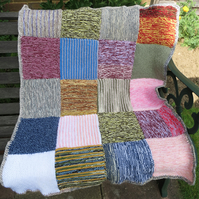 Knitted Lap Blanket