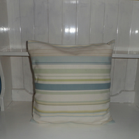Striped and Flowered Cushions