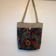 Flower Shoulder Bag Tote