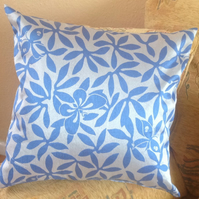 Cushion Blue and Silver