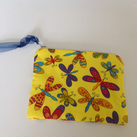 Butterflies Purse Make up Bag