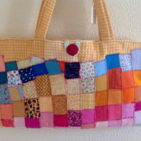 Patchwork Craft Bag