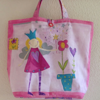 Girls Fairy Shopping Bag with Matching Purse