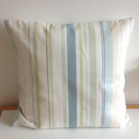 Striped Cotton Cushion.