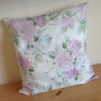 Floral Cream Cushion