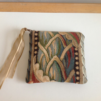 Patterned Fabric Coin  Purse