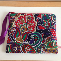 Make up bag Paisley