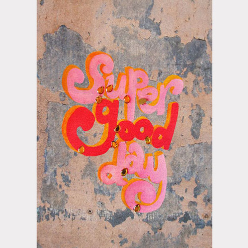 Super Good Day (urban) - A4 Giclee art print