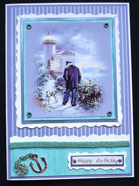 Lighthouse Keeper Birthday Card