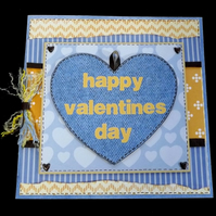 Denim Heart Valentine (2)