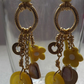 Junk Collectors Earrings-Yellow