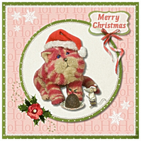 Bagpuss Christmas Card Pack of 4