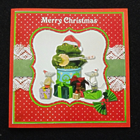 Gabriel Toad Christmas Card pack of 4