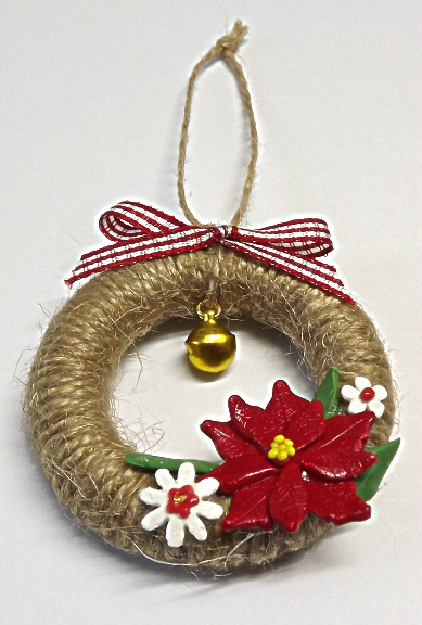 Mini Christmas Wreaths ( Set of 3)