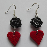 Hearts & Roses Earrings
