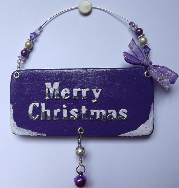 Christmas plaque,tree decoration