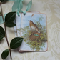 GIFT TAGS, Vintage -style. ' The  SongThrush  '( set of 3)  '..ready to ship...