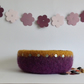FELTED 'FUSSPOT'  BOWL , tray  . ' Regal '....ready to ship...