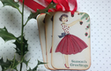 CHRISTMAS CARDS and TAGS