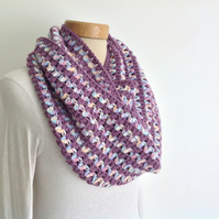 INFINITY SCARF. Super-soft wool, Alpaca  blend  ' Eloise'... ready to ship...