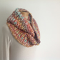 INFINITY SCARF , cowl . Alpaca blend. Super-soft. ' Candy Jar '.