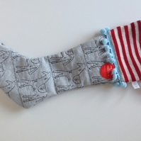 Knitted & Woven christmas stocking decorations