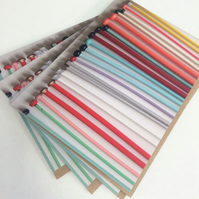 Vintage Knitting Needle Card