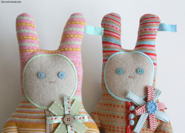 Knitted Bunny Bear