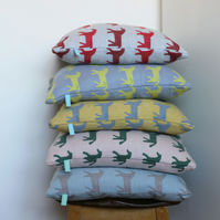 Dala Horse Design Cushion