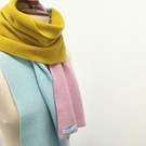Colour Blocks Lambswool Scarf