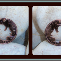 Squirrel Penny Pendant