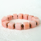 Peach shell stretchy bracelet