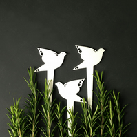 Bird plant markers - Gifts for Gardeners