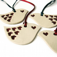 Lovebird decorations