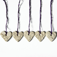 5 Heart wedding favours Wedding decorations Engagement decor gift