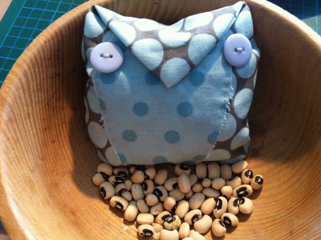Craft Pack - Make Your Own Fabric Beanbag Owl Kit