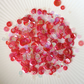 Sparkling Coral Sparkly Shaker Selection - Seed Beads, Sequins and Confetti