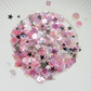 Tinkerbell Sparkly Shaker Selection - Seed Beads, Sequins and Confetti