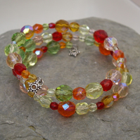 *FINAL REDUCTIONS* Fruit Salad Crystal Bracelet