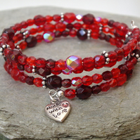 *FINAL REDUCTIONS* Cherry Crystal Bracelet