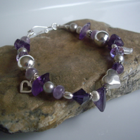 Purple Haze - Gemstone Bracelet