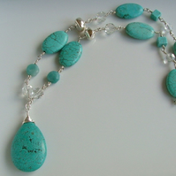 Tahiti Turquoise Necklace N26