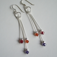 *Carnival* Swarovski Crystal Earrings
