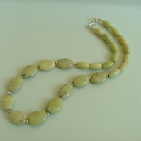 **SALE** Final Reductions! Dawn Butter Jade Necklace